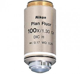 Nikon平場螢光物鏡 – CFI Plan Fluor 100X Oil