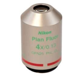 Nikon位相差平場螢光物鏡 – CFI Plan Fluor DL 4XF